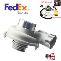 Electric Turbo Supercharger Kit Turbocharger Air Filter Intake For Car Auto SUV