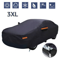 Waterproof Full Car Cover All Weather Protection Outdoor Indoor Dustproof SUV