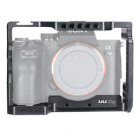 Metal Camera Cage for Sony A7III A7R3 A7M3 Arri Locating Hole Mic Cold Shoe