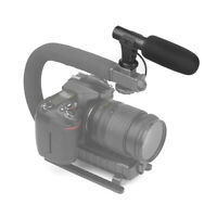 Mic 3.5mm Quality Camera Stereo Digital Interview Video Recording Microphone