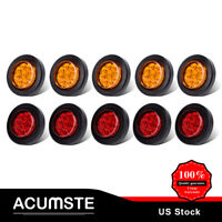 5 Amber + 5 Red Side Marker Light 2