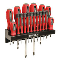 Great Working Tools 18 Piece Screwdriver Set - Magnetic Steel Tip Blades