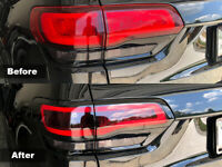 Crux Moto Tail Light Tint Overlay 20% Air Release fits Jeep Grand Cherokee 2014+