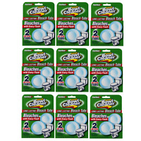 18 Tabs Power House Automatic Toilet Bowl Cleaner Bleaches (Total 9 Packs)