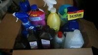 Household Cleaning Supplies - Large Lot