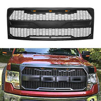 Fits for 2009-2014 Ford F-150 Raptor Style Conversion Grille w/Cover