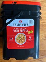 ReadyWise Wise Company  - 124 Servings! Emergency Food bucket