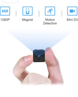 Miniture Wireless Hidden Spy Camera with Full 1080p HD with Motion Detection,New