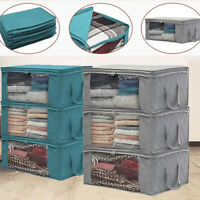Supplies Bedroom Foldable Anti-dust Wardrobe Storage Bags Clothes Organizer