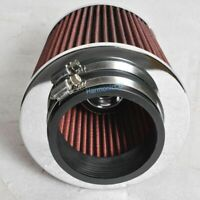 Red KN Type 3.5 Inches Performance Inlet Air Filter Intake Universal