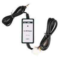Car Aux-in Adapter MP3 Player Radio Interface for Honda Accord Civic Odyssey Fit
