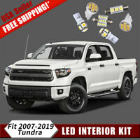 18x 6000K White LED Dome Interior Lights Package Kit for 2007-2019 Toyota Tundra