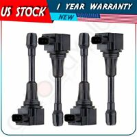 New Ignition Coil 4  pack  For NFINITI FX50 M56 ALTIMA CUBE SENTRA 2.5L 1.8L