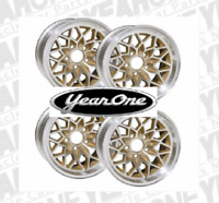 YEARONE Gold Snowflake Wheels 17