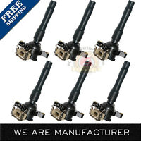 Set of 6 Ignition Coil 1994-2005 FOR BMW 5 Series More C1239 UF354 12131748017