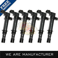 Pack of 6 New Ignition Coils fits Dodge Jeep Mitsubishi 3.7L V6 4.7L V8 UF270