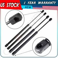 4 Front Hood & Rear Window Lift Supports Shocks Struts For Jeep Liberty 2002-07
