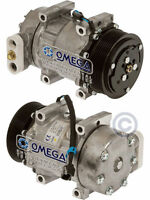 A/C AC Compressor Replaces: Sanden 4042, 4077, 4368, 4432,  Peterbilt Kenworth