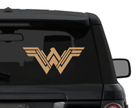 Wonder Woman NEW logo decal sticker for car, laptop, yeti CHOOSE COLOR