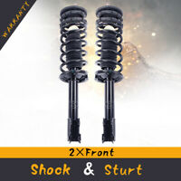 For 00-05 Cadillac DeVille Front Quick Complete Struts & Coil Springs + Mounts*2
