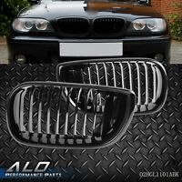 NEW  Glossy Kidney Front Grilles Grill For 02-05 BMW 3 Series E46 4 Door