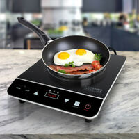 1800W Portable Induction Cooktop Countertop Single Cooker Burner Stove Hot Plate