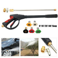 2100PSI High Pressure Cleaner Washer Gun Spray Nozzle Hose Kit Car Cleaning M22