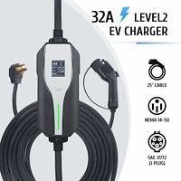 Electric Vehicle Charger EV Car Charger Cable Cord 110V 16A J1772 5-15 level1