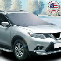 Magnetic Car Windshield Snow Cover Winter Ice Frost Guard Protector Sun Shield