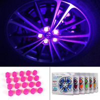 20x Car Accessories Exterior Wheel Rim Lug Nut Covers Glow in the Dark Fast USA