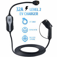 EVSE Electric Vehicle Charger EV Level 2 220Volt 16A for Leaf Volt Prius