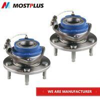 Set(2) Front Wheel Hub Bearing Assembly for Chevy Pontiac w/ ABS 513121