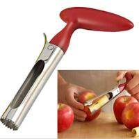 Hot! Stainless Steel Kitchen Twist Core Remover Fruit Apple Corer Pear Tools