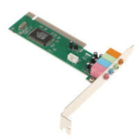 5.1 Channel Surround 3D PCI Sound Audio Stereo Card for Win 7 8 10 Desktop