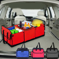 Foldable Multi Collapsible Organizer Box Bag with Cooler Storage Car C