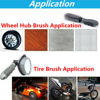 Car Motorcycle Wheel Tire Rim Hub Cleaning Brush Wash Scrub Tools Great Cleaner