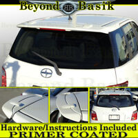 For 2004 2005 2006 Scion xA Factory Style Spoiler Wing Roof Fin w/LED PRIMER