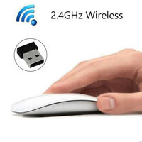 2.4GHz USB Wireless Optical Mouse Maus For Apple Mac Macbook Pro Air PC