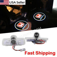 2PCS Logo LED Door Courtesy Welcome Light Ghost Shadow Laser Projector For Honda