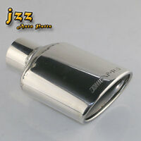 JZZ AMG car single exhaust oval tip for inlet 2.3in