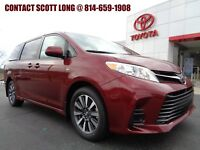 2018 Toyota Sienna Brand New 2018 Sienna LE AWD Red New 2018 Sienna LE AWD Barcelona Red All Wheel Drive Rear Camera Power Doors
