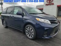 2018 Toyota Sienna Brand New 2018 Sienna LE AWD Blue New 2018 Sienna LE AWD Parisian Night Pearl AWD Rear Camera Power Doors