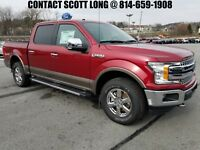 2018 Ford F-150 Lariat Rearview Backup Camera FX4 Off Road New 2018 F-150 SuperCrew 4x4 2.7L V6 Lariat Rearview Backup Camera FX4 Off Road