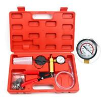 Hand held Vacuum Pressure Pump Set Car Brake Fluid Bleeder Tester Kit