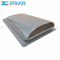 Hood Scoop Universal Fiberglass Aero Air Intake Cowl Induction MSH