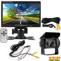 Vehicle IR LED Backup Reverse Camera+ 7