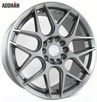 17X7.5 AodHan LS002 Rims 5x100 5x114.3 +35 Gun Metal Wheels (Set of 4)
