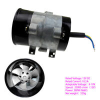 DC 12V Car Turbo Charger Fan High Power 35000RPM Turbine Fan DC Brushless blower