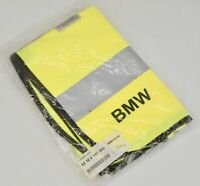 BMW Road Safety Yellow Reflective Vest 82122147800 New in Bag