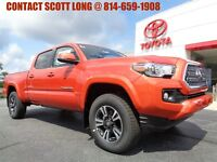 2018 Toyota Tacoma 2018 Double Cab 4x4 3.5L 4WD TRD Sport New 2018 Tacoma Double Cab 4x4 TRD Sport Long Bed Navigation 4WD Inferno Paint